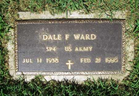 WARD (VETERAN), DALE F. - Benton County, Arkansas | DALE F. WARD (VETERAN) - Arkansas Gravestone Photos