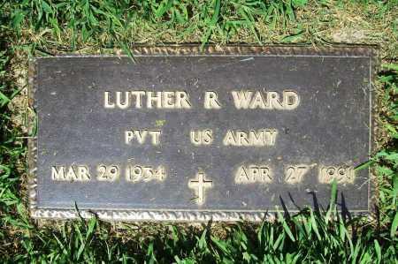 WARD (VETERAN), LUTHER R. - Benton County, Arkansas | LUTHER R. WARD (VETERAN) - Arkansas Gravestone Photos