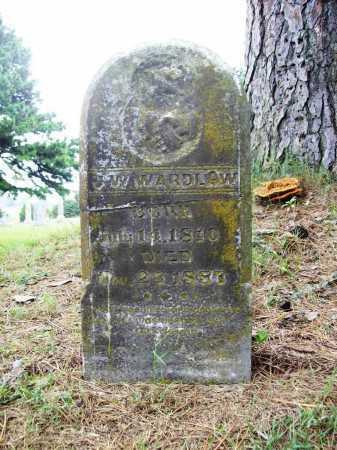 WARDLAW, J. W. - Benton County, Arkansas | J. W. WARDLAW - Arkansas Gravestone Photos