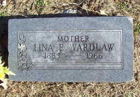 WARDLAW, LINA E. - Benton County, Arkansas   LINA E. WARDLAW - Arkansas Gravestone Photos