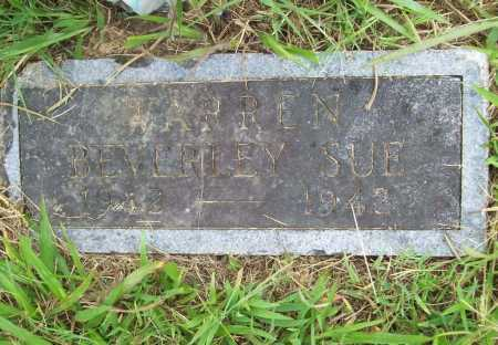 WARREN, BEVERLEY SUE - Benton County, Arkansas | BEVERLEY SUE WARREN - Arkansas Gravestone Photos