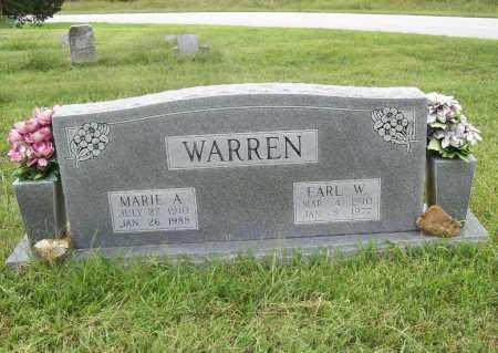 SCHELL WARREN, MARIE A. - Benton County, Arkansas   MARIE A. SCHELL WARREN - Arkansas Gravestone Photos