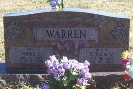 WARREN, STELLA V. - Benton County, Arkansas | STELLA V. WARREN - Arkansas Gravestone Photos