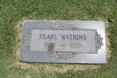 WATKINS, PEARL - Benton County, Arkansas   PEARL WATKINS - Arkansas Gravestone Photos