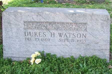 WATSON, DUKES H. - Benton County, Arkansas   DUKES H. WATSON - Arkansas Gravestone Photos