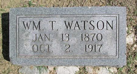 WATSON, WILLIAM T - Benton County, Arkansas   WILLIAM T WATSON - Arkansas Gravestone Photos