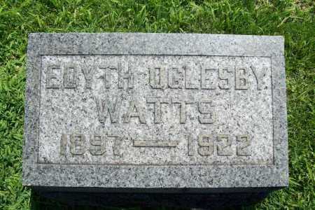 WATTS, EDYTH - Benton County, Arkansas | EDYTH WATTS - Arkansas Gravestone Photos