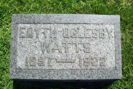 OGLESBY WATTS, EDYTH - Benton County, Arkansas | EDYTH OGLESBY WATTS - Arkansas Gravestone Photos
