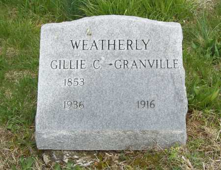WEATHERLY, GILLIE C. - Benton County, Arkansas | GILLIE C. WEATHERLY - Arkansas Gravestone Photos