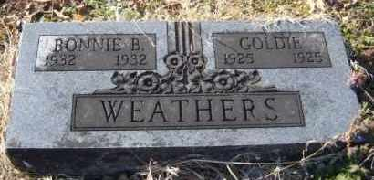 WEATHERS, BONNIE B. - Benton County, Arkansas | BONNIE B. WEATHERS - Arkansas Gravestone Photos