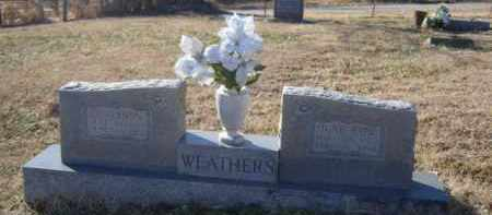 WEATHERS, C. VERNON - Benton County, Arkansas | C. VERNON WEATHERS - Arkansas Gravestone Photos