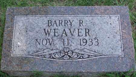 WEAVER, BARRY R. - Benton County, Arkansas   BARRY R. WEAVER - Arkansas Gravestone Photos