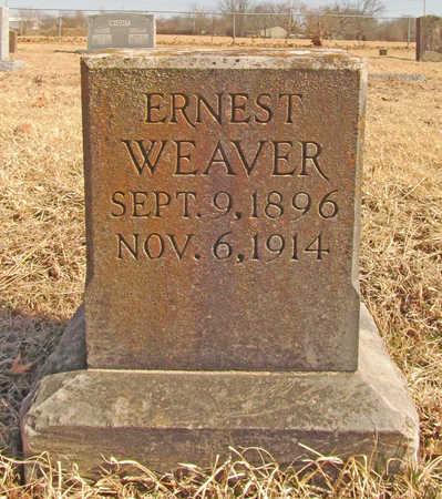 WEAVER, ERNEST - Benton County, Arkansas | ERNEST WEAVER - Arkansas Gravestone Photos