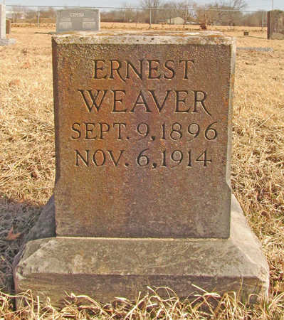 WEAVER, ERNEST - Benton County, Arkansas | ERNEST WEAVER - Arkansas Gravestone Photos