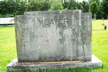 WEAVER, GEORGE A. - Benton County, Arkansas | GEORGE A. WEAVER - Arkansas Gravestone Photos