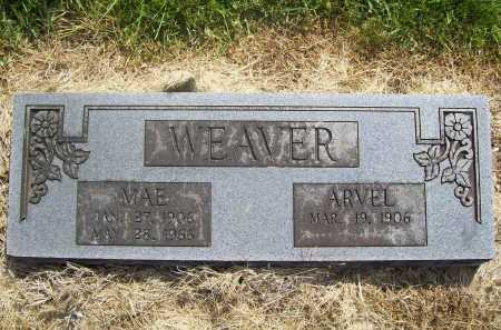 WEAVER, ARVEL - Benton County, Arkansas | ARVEL WEAVER - Arkansas Gravestone Photos