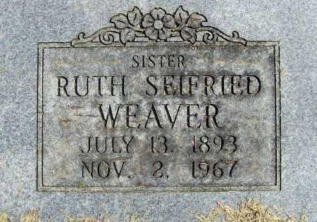 WEAVER, RUTH (CLOSEUP) - Benton County, Arkansas | RUTH (CLOSEUP) WEAVER - Arkansas Gravestone Photos