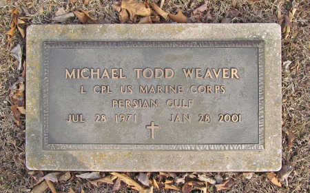 WEAVER (VETERAN PGW), MICHAEL TODD - Benton County, Arkansas | MICHAEL TODD WEAVER (VETERAN PGW) - Arkansas Gravestone Photos