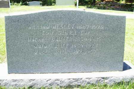 BARTER WEAVER, RACHEL - Benton County, Arkansas | RACHEL BARTER WEAVER - Arkansas Gravestone Photos