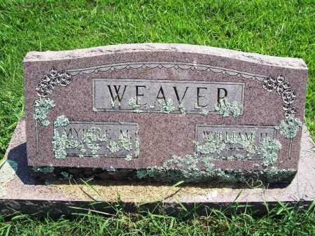 WEAVER, WILLIAM H. - Benton County, Arkansas | WILLIAM H. WEAVER - Arkansas Gravestone Photos