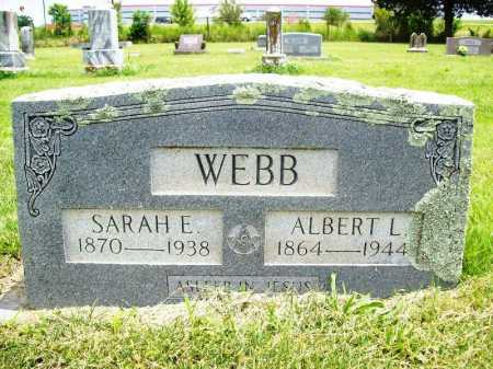WEBB, ALBERT L. - Benton County, Arkansas | ALBERT L. WEBB - Arkansas Gravestone Photos