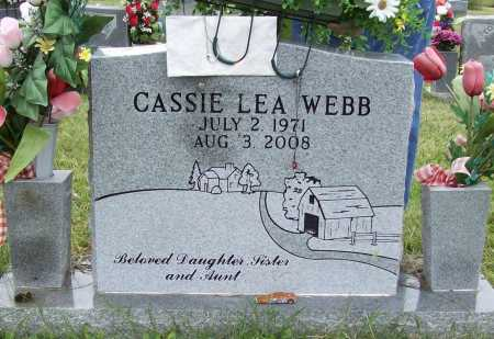 WEBB, CASSIE LEA - Benton County, Arkansas   CASSIE LEA WEBB - Arkansas Gravestone Photos