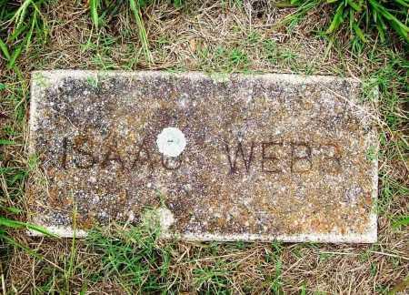 WEBB, ISAAC - Benton County, Arkansas | ISAAC WEBB - Arkansas Gravestone Photos