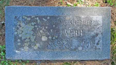 WEBB, NANNIE - Benton County, Arkansas | NANNIE WEBB - Arkansas Gravestone Photos