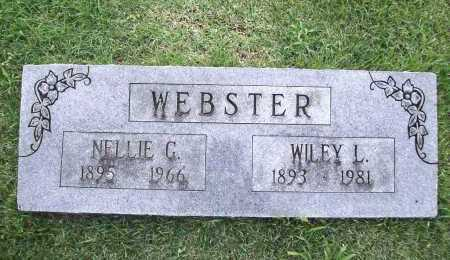 WEBSTER, WILEY L. - Benton County, Arkansas | WILEY L. WEBSTER - Arkansas Gravestone Photos