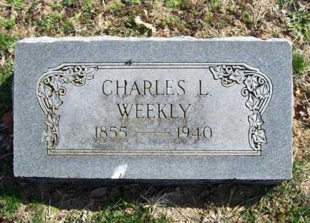 WEEKLY, CHARLES L. - Benton County, Arkansas   CHARLES L. WEEKLY - Arkansas Gravestone Photos