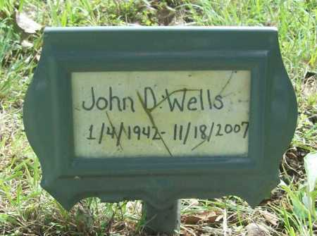 WELLS, JOHN D. - Benton County, Arkansas | JOHN D. WELLS - Arkansas Gravestone Photos