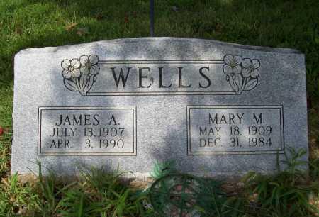 WELLS, JAMES A. - Benton County, Arkansas | JAMES A. WELLS - Arkansas Gravestone Photos