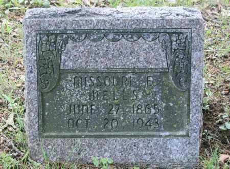 WELLS, MISSOURI E. - Benton County, Arkansas | MISSOURI E. WELLS - Arkansas Gravestone Photos