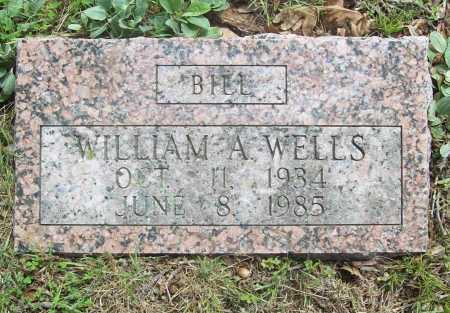 WELLS, WILLIAM A. - Benton County, Arkansas | WILLIAM A. WELLS - Arkansas Gravestone Photos
