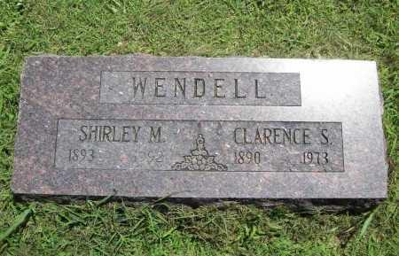 WENDELL, CLARENCE S. - Benton County, Arkansas | CLARENCE S. WENDELL - Arkansas Gravestone Photos
