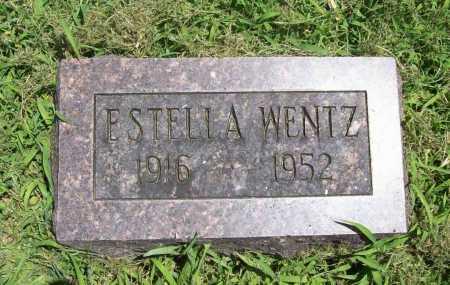 WENTZ, ESTELLA - Benton County, Arkansas | ESTELLA WENTZ - Arkansas Gravestone Photos