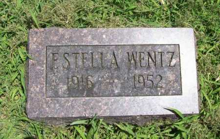 WENTZ, ESTELLA - Benton County, Arkansas   ESTELLA WENTZ - Arkansas Gravestone Photos
