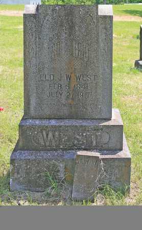 WEST, JOHN WILLIAM ELD - Benton County, Arkansas | JOHN WILLIAM ELD WEST - Arkansas Gravestone Photos
