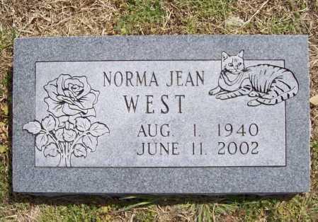 WEST, NORMA JEAN - Benton County, Arkansas | NORMA JEAN WEST - Arkansas Gravestone Photos