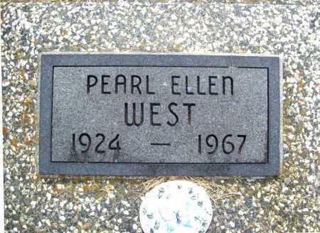 WEST, PEARL ELLEN - Benton County, Arkansas | PEARL ELLEN WEST - Arkansas Gravestone Photos