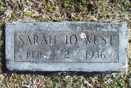 WEST, SARAH JO - Benton County, Arkansas | SARAH JO WEST - Arkansas Gravestone Photos