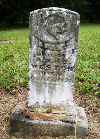 WESTON, INFANT DAUGHTER - Benton County, Arkansas | INFANT DAUGHTER WESTON - Arkansas Gravestone Photos