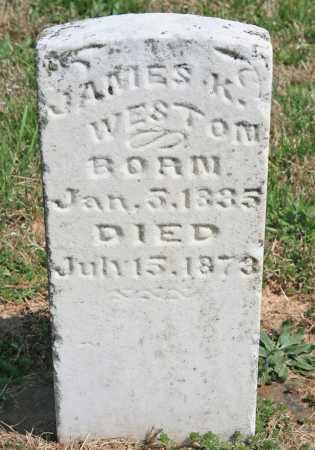 WESTON, JAMES K. - Benton County, Arkansas | JAMES K. WESTON - Arkansas Gravestone Photos
