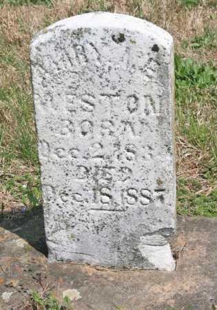 WESTON, MARY A. E. - Benton County, Arkansas | MARY A. E. WESTON - Arkansas Gravestone Photos