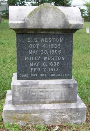 WESTON, S. S. - Benton County, Arkansas | S. S. WESTON - Arkansas Gravestone Photos
