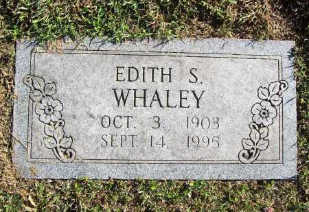 GRAHAM WHALEY, EDITH S. - Benton County, Arkansas | EDITH S. GRAHAM WHALEY - Arkansas Gravestone Photos