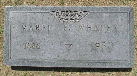 WHALEY, MABEL E - Benton County, Arkansas | MABEL E WHALEY - Arkansas Gravestone Photos
