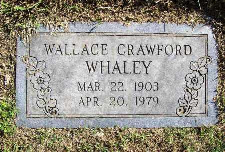 WHALEY, WALLACE CRAWFORD - Benton County, Arkansas | WALLACE CRAWFORD WHALEY - Arkansas Gravestone Photos