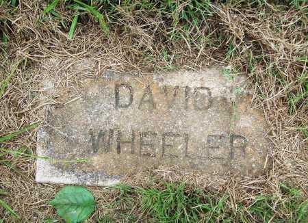 WHEELER, DAVID - Benton County, Arkansas   DAVID WHEELER - Arkansas Gravestone Photos