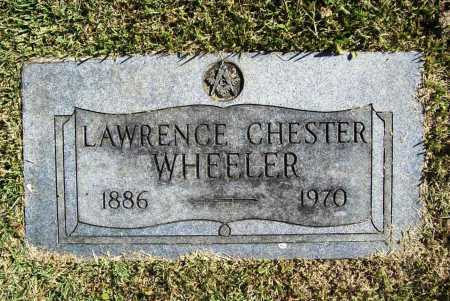 WHEELER, LAWRENCE CHESTER - Benton County, Arkansas | LAWRENCE CHESTER WHEELER - Arkansas Gravestone Photos